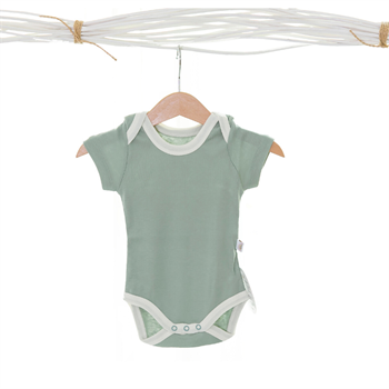 Little Basics Kısa Kollu Body - Sage