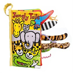 Jellycat Bez Kitap/Jungly Tails Book
