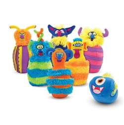 Melissa - Doug Monster Bowling
