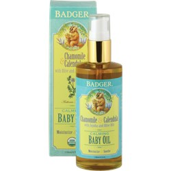 Badger Baby Oil / Bebek Yağı (118 ml)
