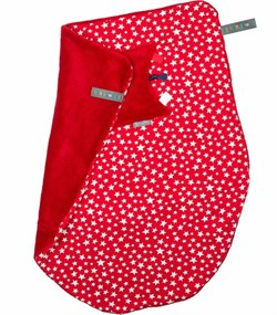 Cheeky Chompers Puset ve Bebek Battaniyesi Red Stars Cheeky Blanket
