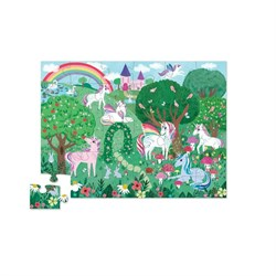 Crocodile Creek Dekoratif Puzzle Unicorn 36 Parça