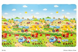 Unigo Comflor Fruit Farm (210cm x 140cm x 13mm)