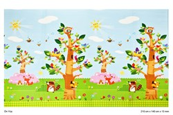 Unigo Comflor Birds İn The Trees (210cm x 140cm x 13mm)