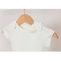 Little Basics Kısa Kollu Body - Ivory