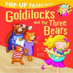 Little Tiger Pop-Up Fairytales: Goldilocks and the Three Bears