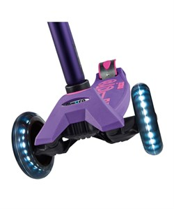Micro Maxi Scooter Deluxe Purple (Led)