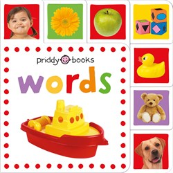 Priddy Books Mini Tab Books: Words