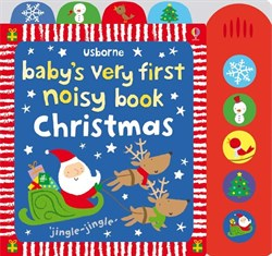 Usborne Babys Very First Noisy Book - Christmas