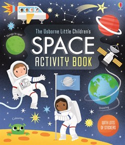 Usborne Little Childrens Space Activity Book