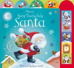 Usborne Noisy Touchy-Feely Santa
