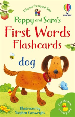 Usborne Poppy and Sams First Words Flashcards