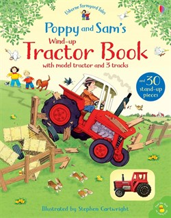 Usborne Poppy and Sams Wind-Up Tractor Book